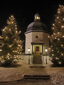 Kapelle im Salzburger Land: Stille Nacht, heilige Nacht!